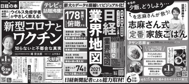 2021年2月20日 日本経済新聞 朝刊