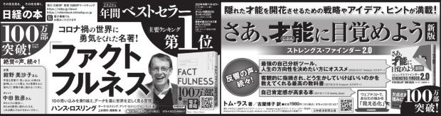 2021年3月4日 日本経済新聞 夕刊