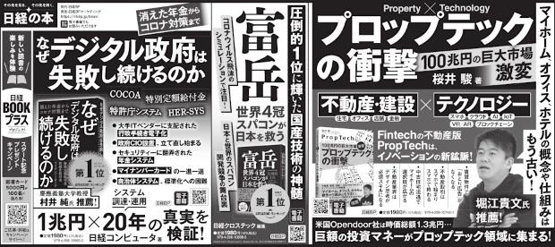 2021年4月11日 日本経済新聞 朝刊