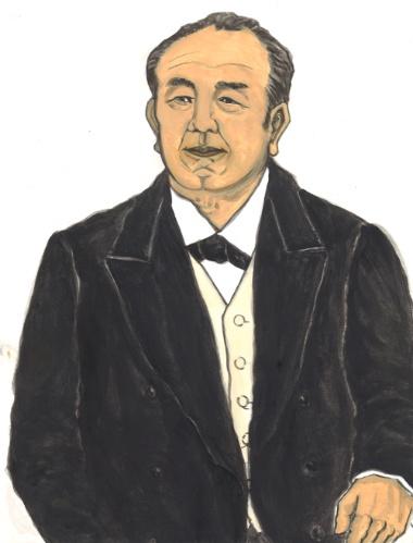 渋沢栄一。天保11年(1840年)、現・埼玉県深谷市生まれ。1840年は、明治維新のきっかけともなったアヘン戦争勃発の年だ。19歳の時、日米修好通商条約が結ばれている。28歳の時、主君の徳川慶喜は大政奉還。まさに激動の時代に生きた(画:中村麻美)