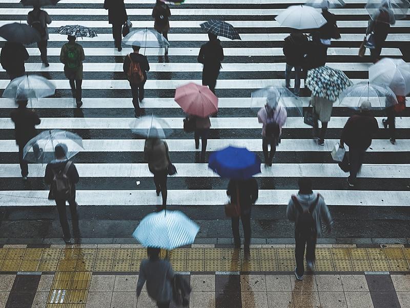 習慣3:雨の日はこまめに休憩を入れる
